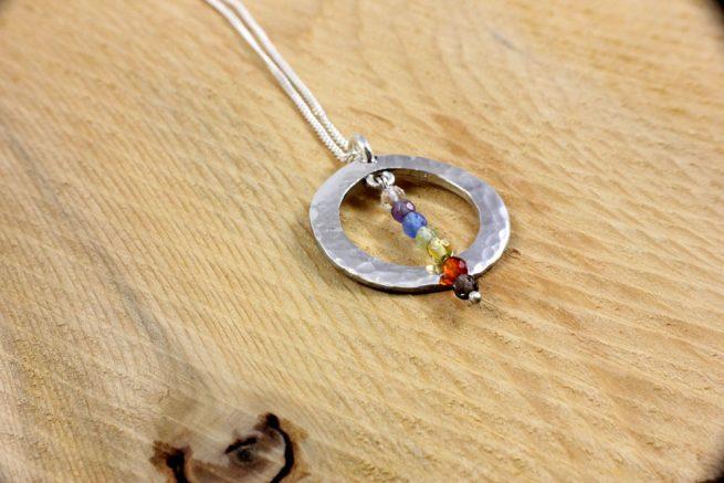 Chakra balancing pendant