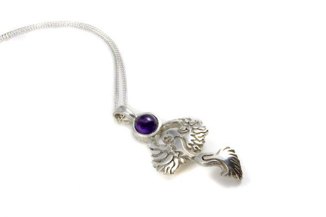 Phoenix Pendant Sterling Silver