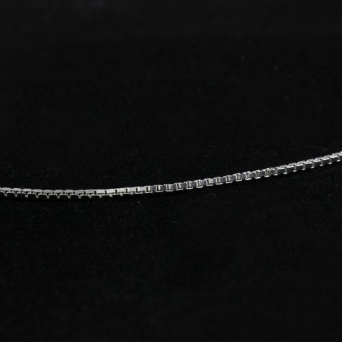 chain sterling silver box style