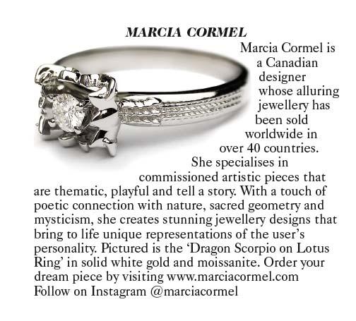 Canadian Jewelry Designer Marcia Cormel